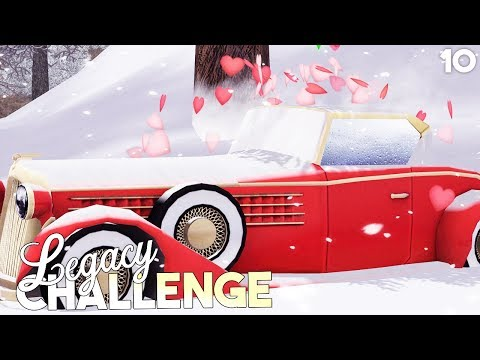 Sims 3 || Legacy Challenge: WOOHOO IN OUR NEW CAR! - Part 10