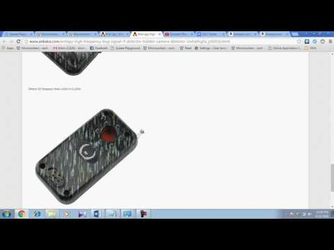 Hidden Camera and High Radio Frequency Detector