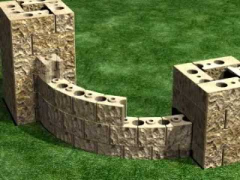 How to build a 2 sided entry monument your landscape