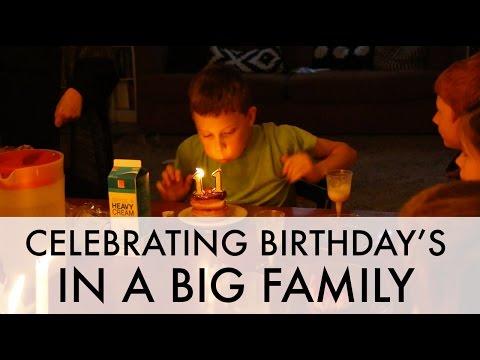 Birthdays in BIG families