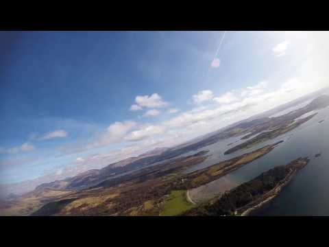 Microlight Flying on the West Coast of Scotland