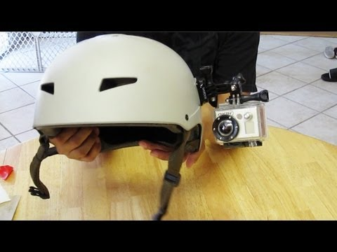 How to Side Mount a GoPro camera to a MTB Helmet