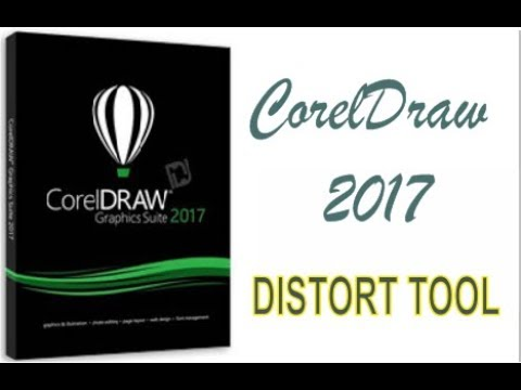 COREL DRAW 2017 USING DISTORT TOOL HINDI URDU PART 34