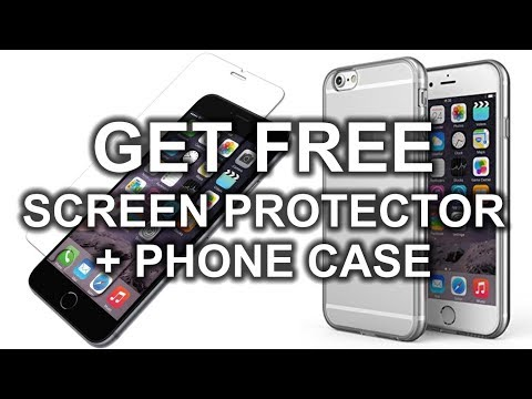 How to get FREE Screen Protector & Case for your Phone