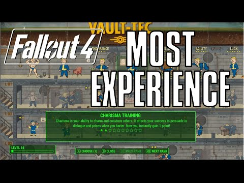 Fallout 4: Best Build to Gain EXP/Level Up (For What We Know)