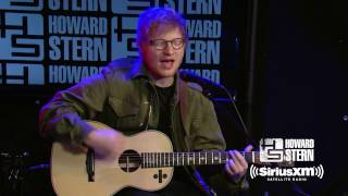 "Ed Sheeran ""Castle On The Hill"" Live on the Howard Stern Show"