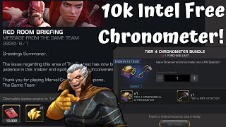 10k Intel Free Chronometer For Epic Red Rifts! - Marvel Contest of Champions