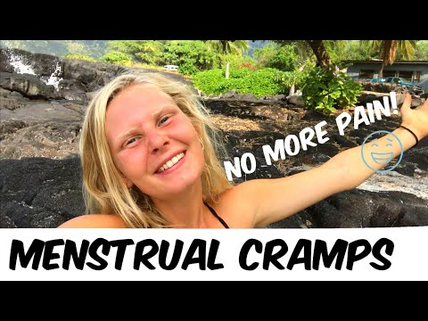 HOW TO GET RID OF MENSTRUAL CRAMPS | Aches and Pains gone!