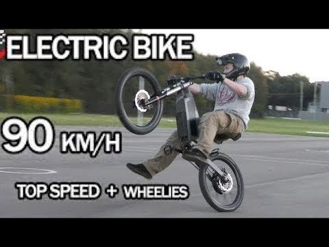 Electric Bike 90km/h Top Speed + Wheelies | Stealth Electric Bikes