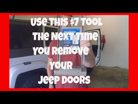 Jeep Wrangler Door Removal Made Easier