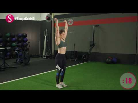 3-Minute Bicep and Tricep Workout | #CrushYourGoals with Jen Widerstrom | SHAPE