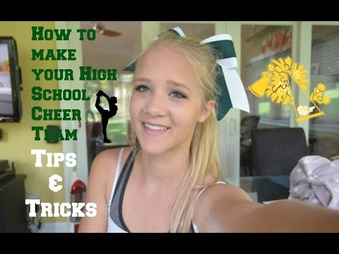 How to make Your High School Cheer Team
