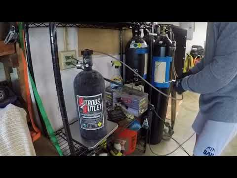 How to Fill a Nitrous Bottle Without a Pump
