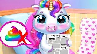 Download Fun New Born Pony Care - My Baby Unicorn Kids Game - Fun Cute Pet Care & Makeover Mini Games For Kid Video