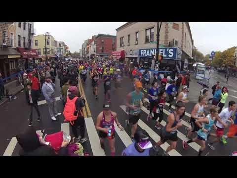 Marathon  New York 2017  Greenpoint  Brooklyn raices tv