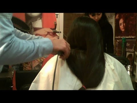 Clipper Art  ( Beautiful long Hair chopped by Clipper)