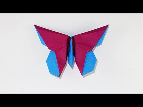 Origami 'Butterfly for Eric Joisel' by Michael Lafosse