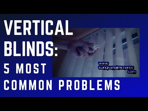 Five Most Common Problems With Vertical Blinds