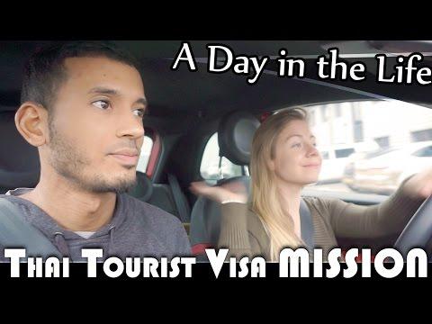 THAI TOURIST VISA MISSION - ENGLAND DAILY VLOG (ADITL EP146)