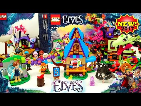 NEW Lego Elves The Capture of Sophie Jones 2017 Building Review 41182