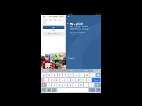 How To Use OverDrive eLibrary 24/7 on iPad