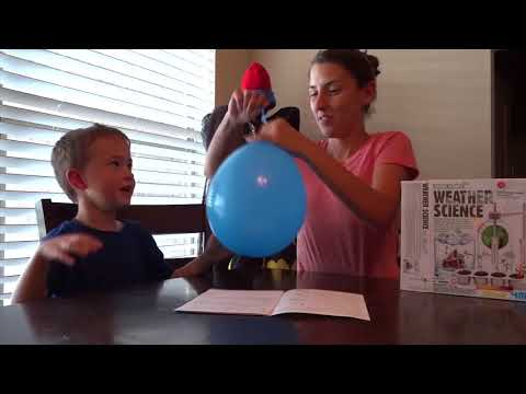 Learning about static electricity