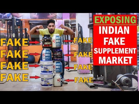 EXPOSE : Indian Fake Supplements | Where to Buy Original Supplement in India ?