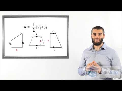 Maths Help Online - Area of a Trapezium