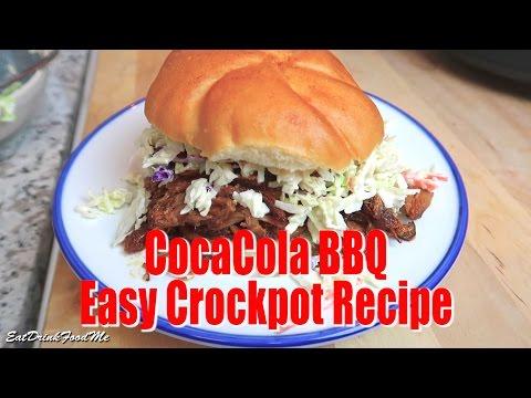 Super Easy Crock Pot Coca Cola Pulled Pork - Easy Recipe Eps #36