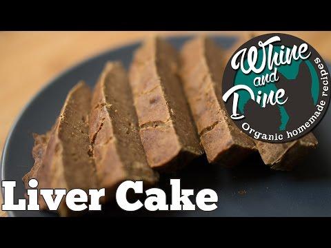 Simple Liver Cake | Homemade Dog Cake