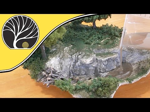 Deep Pour Water™ Murky | Create Depth When Modeling Water | Woodland Scenics
