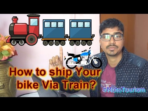 Ship your bike via Train in India [Hindi] | A cheap and faster way to ship!!!
