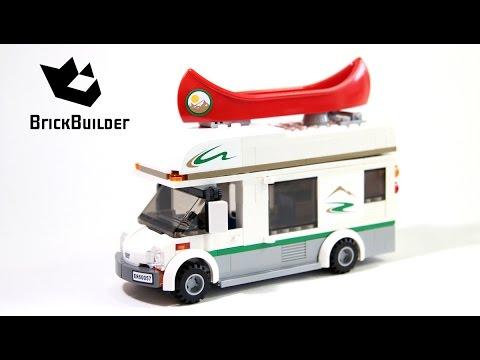 Lego City 60057 Camper Van - Lego Speed Build