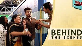 Off Screen Masti of Naamkarann Team!  #BehindTheScenes