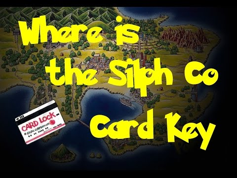 Where Is: The Silph Co Card Key (Pokemon Fire Red/Leaf Green)