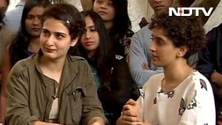 Dangal Sisters Sanya and Fatima Talk About Their Bond