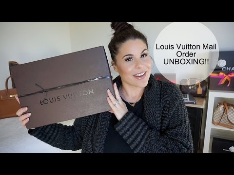 Louis Vuitton Mail Order UNBOXING 2016♡