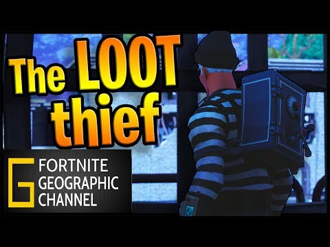 The loot Goblin | Stealing your sanity | Fortnite Geographic film