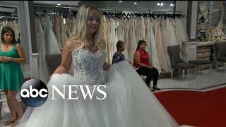 Brides Across America bought a wedding dress for Iraq War veteran Genevievie Braun
