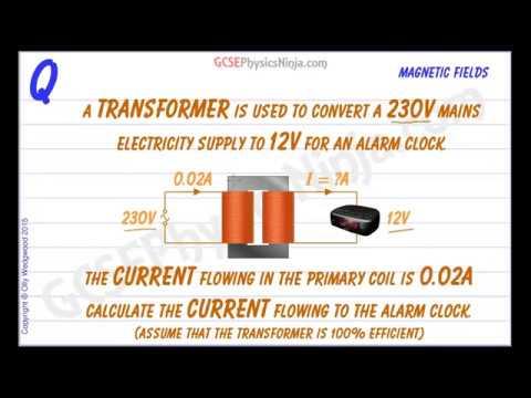 Transformer Physics Problems - Electromagnetism