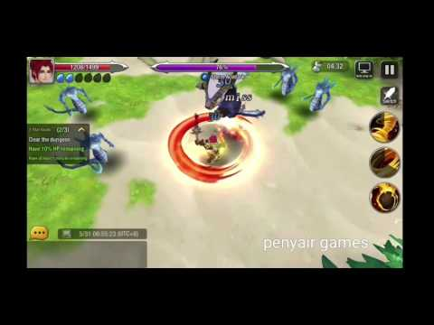dragon hunter gameplay . android ios