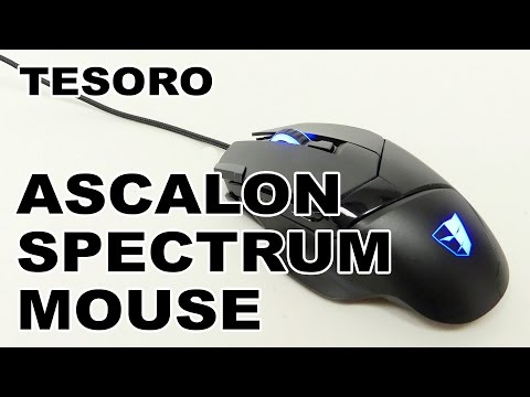 Tesoro Ascalon Spectrum Optical Gaming Mouse Review