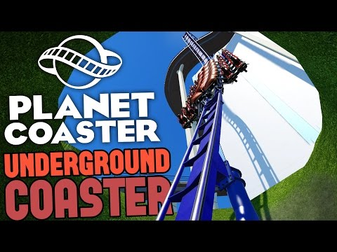 Planet Coaster Gameplay - The Underground Skyscraper Roller Coaster! - Let's Play Planet Coaster