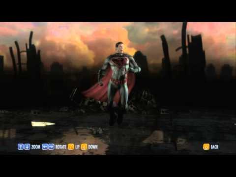 Injustice - Superman all Costumes - DLC