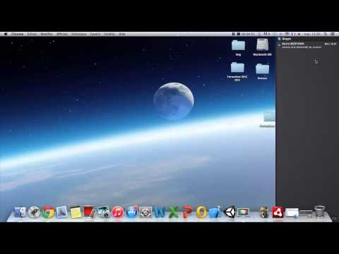 Formation MAC OSX - #5 Les Widgets