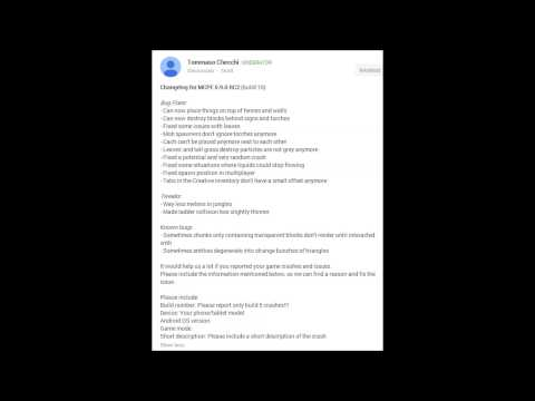 Minecraft Pocket Edition 0.9.0 Beta Build 10 Released