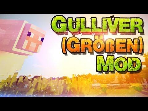 Minecraft 1.6.4 Gulliver Mod Installation ► Spieler Größe ändern! ◄ Windows + Mac   German Deutsch