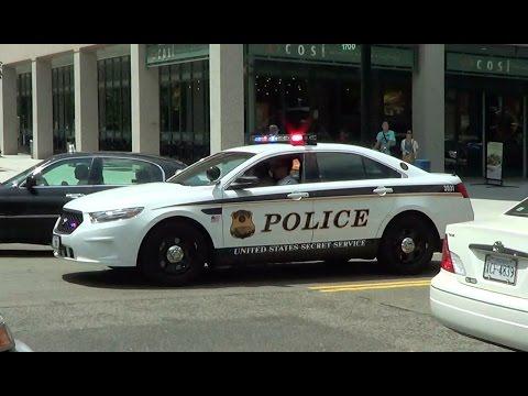 United States Secret Service Police cruiser responding [Washington D.C.   7/2013]