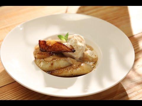 Braised Pear With Caramel Sauce | Pear Pairings | Sanjeev Kapoor Khazana