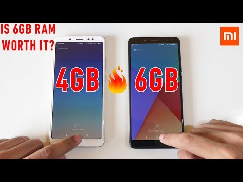 Redmi Note 5 Pro 4GB vs 6GB RAM variant. MEMORY MANAGEMENT TEST!